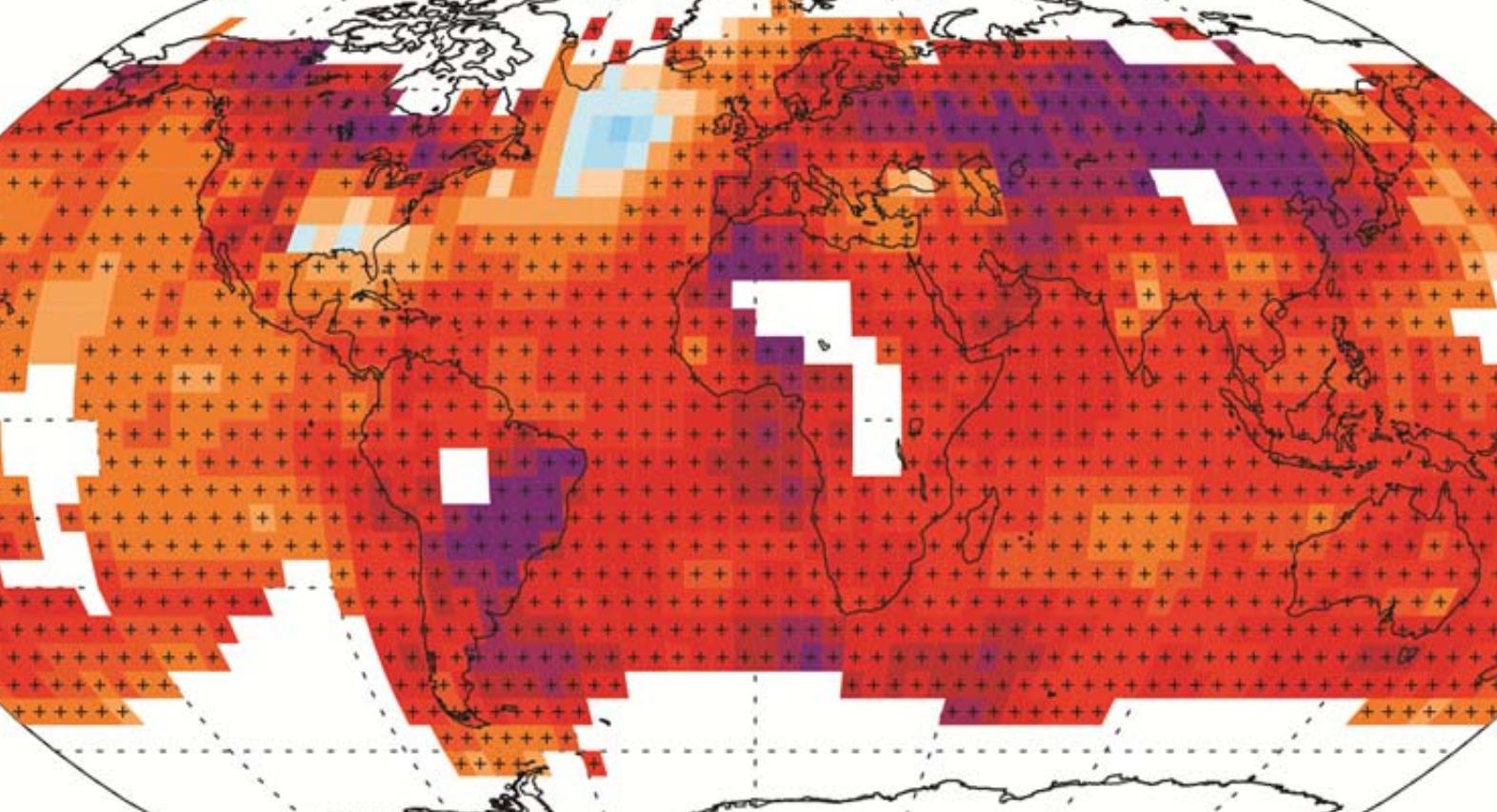 ipcc surface temperatures