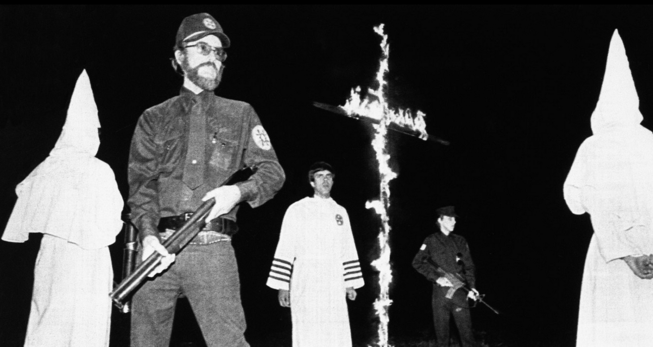 Derek Black's father, Don Black, one-time Ku Klux Klan grand wizard.