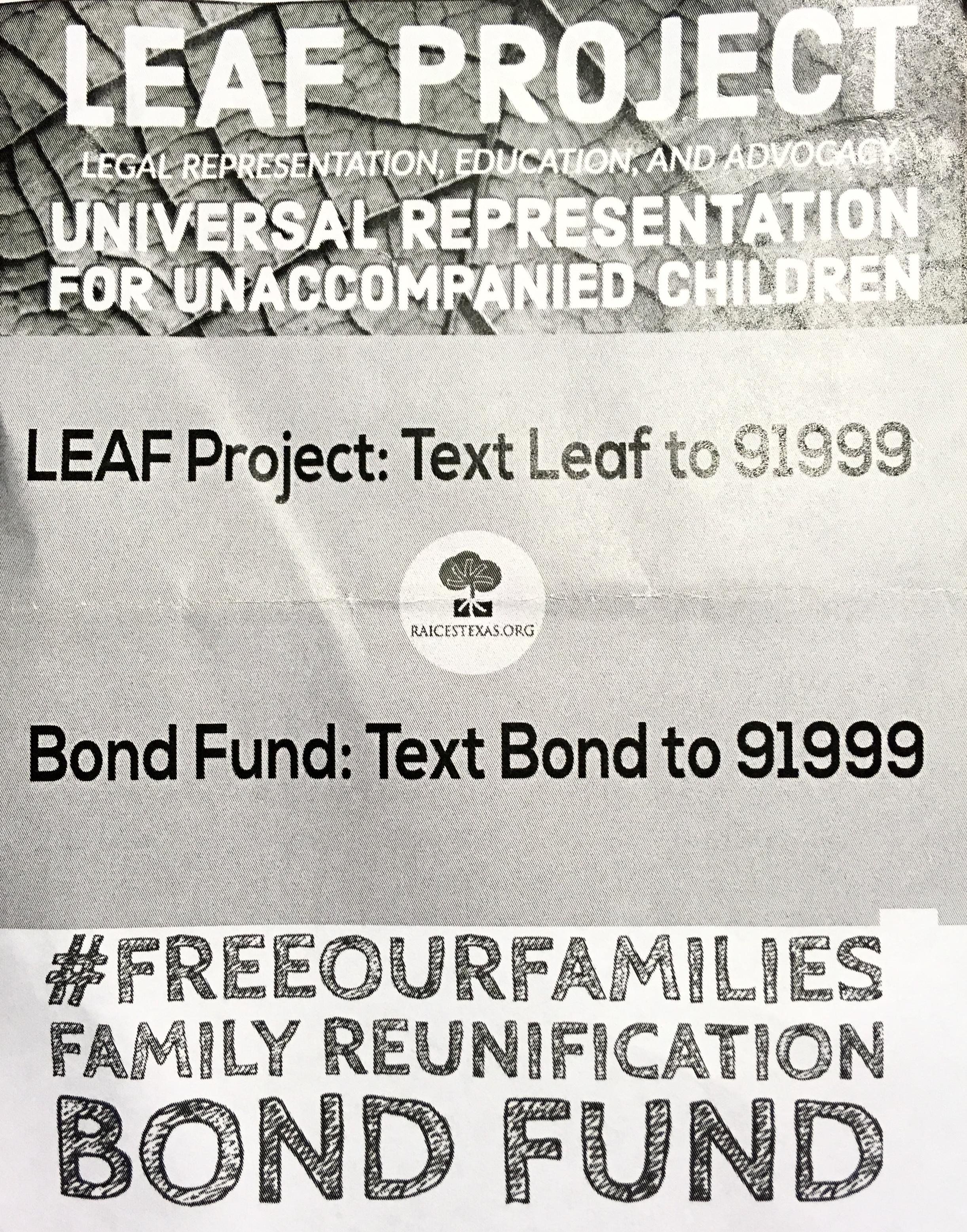 RAICES: LEAF Project for Universal Representation for Unaccompanied Children